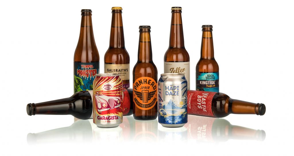Craft Beer Group Shot