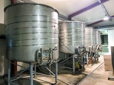 Crown 10kL Variable Capacity Fermenter
