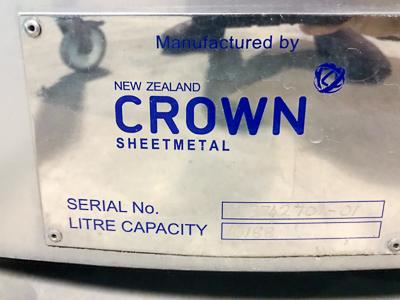 Crown 7kL Fermenters