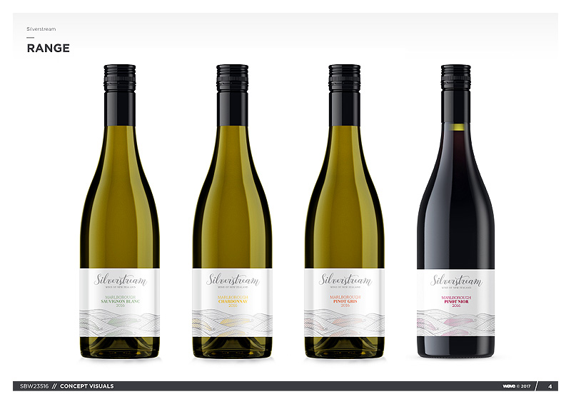 BRANDS: Silverstream New Zealand Wines Brand Visuals