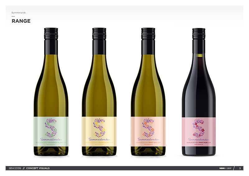 BRANDS: Summerlands New Zealand Wines.