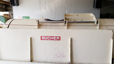 Bucher Bag Press