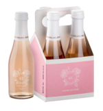 Master of Ceremonies Sparking Rose 200ml Carry Pack (Four Bottle)