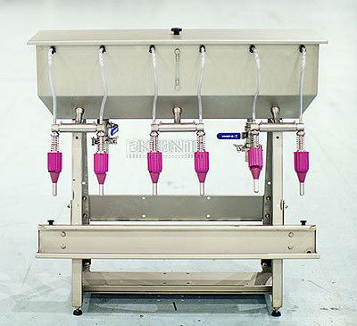 6-spout-gravity-filling-machine