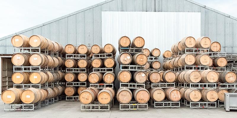 Used White Barrels